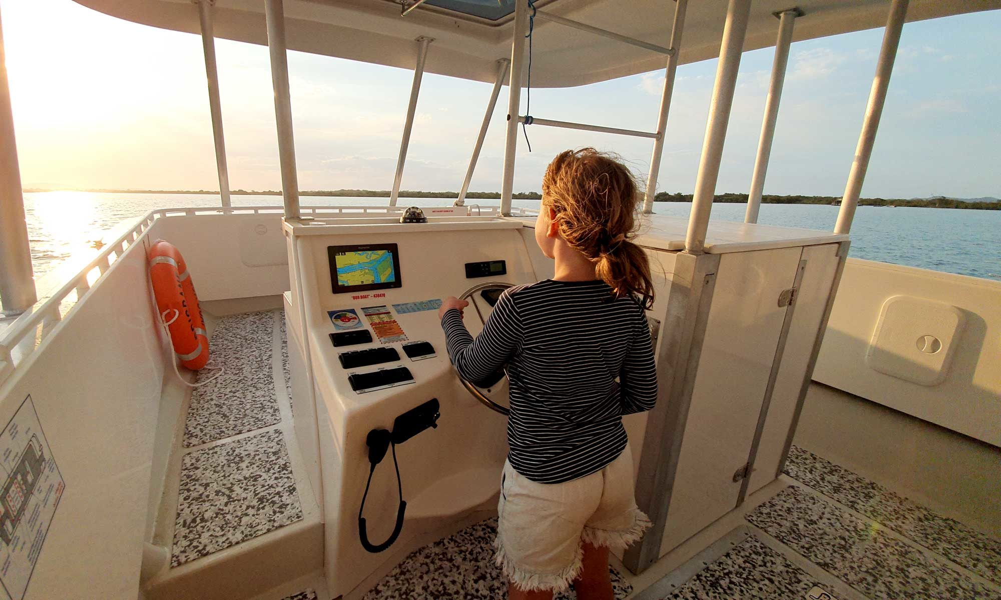Our Boat is easy to operate